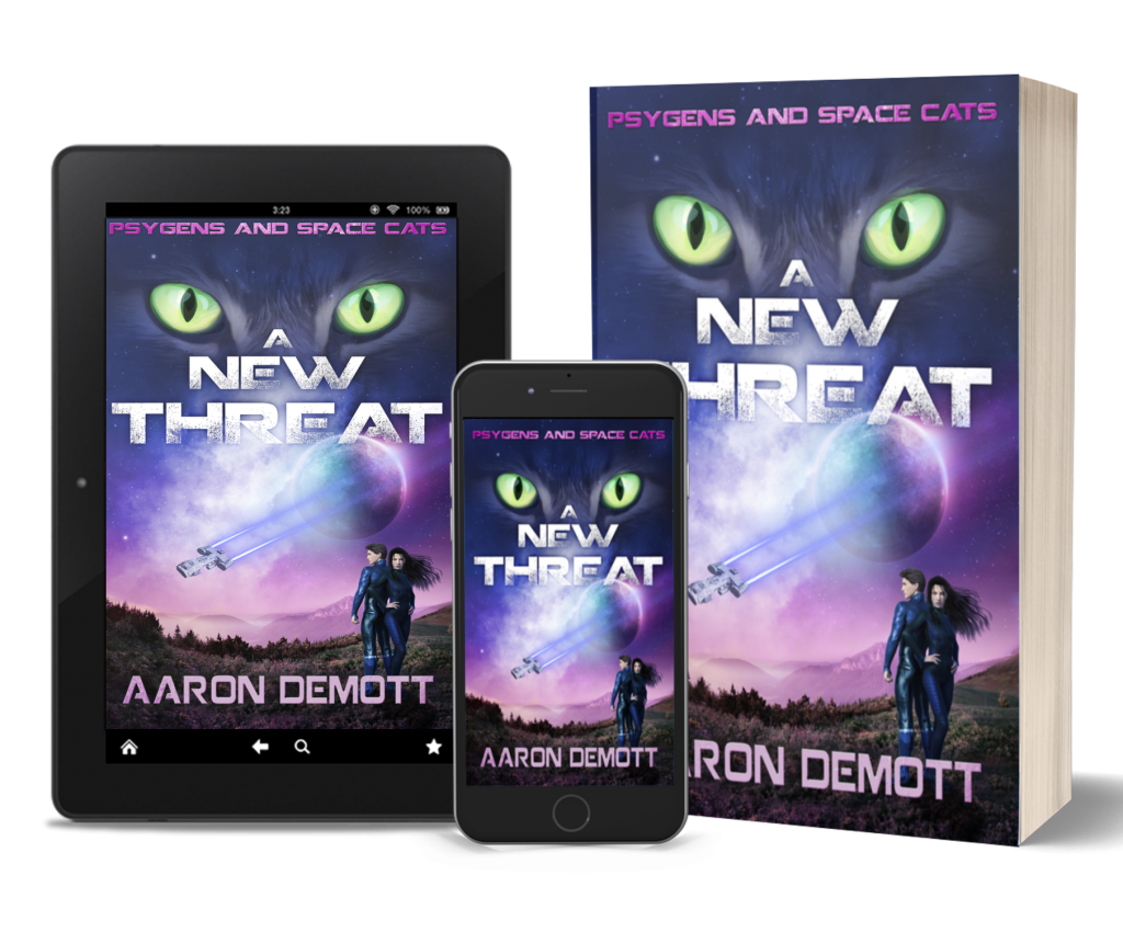A New Threat is available in ebook or paperback